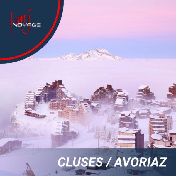 Transfert Cluses – Avoriaz