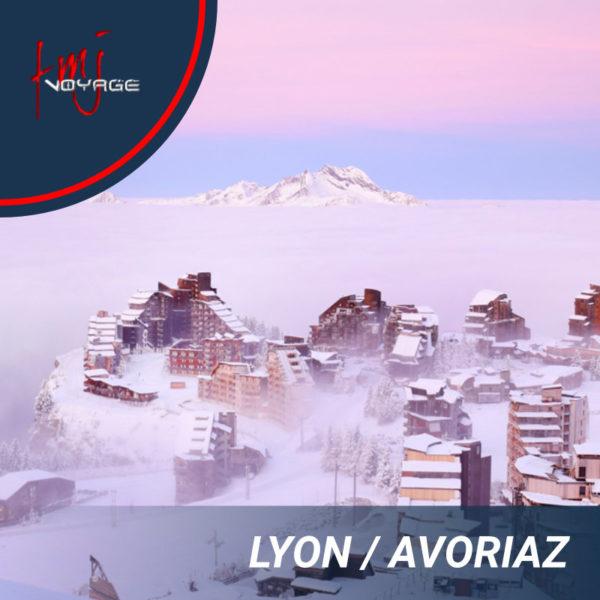 Transfert Lyon – Avoriaz