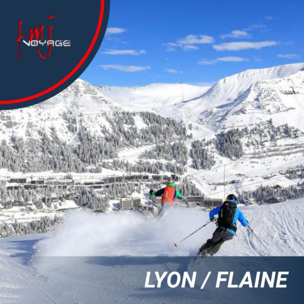 Transfert Lyon – Flaine