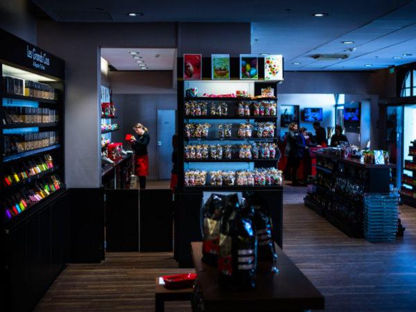 La cité du chocolat magasin Valrhona